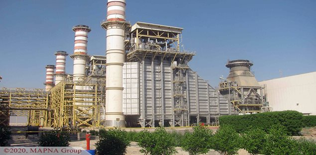 Second Steam Portion of Abadan Power Plant Receives FAC