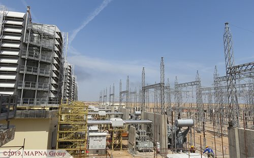 Unit Five of Rumaila Power Plant Synchronized to the Grid