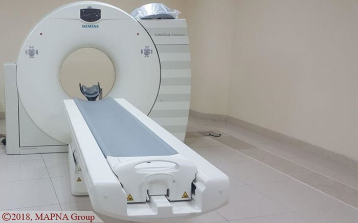 MAPNA Opens CT-Scan Center in Western Iran