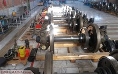 MAPNA Rail Division Launches Gearbox Overhaul Workshop