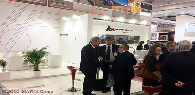 MAPNA ATTENDS INNOTRANS EXPO IN GERMANY
