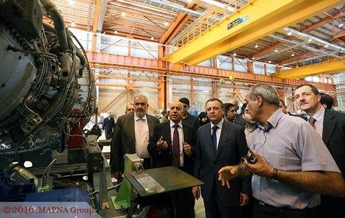 ALGERIAN MINISTER OF INDUSTRY AND MINES VISITS MAPNA