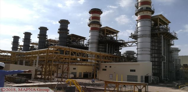 Parand Plant Second Steam Unit Synchronized to the National Grid