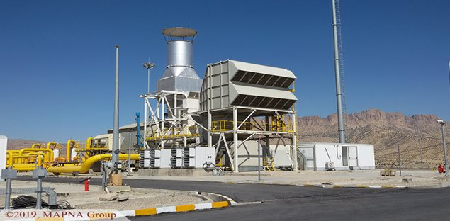 MAPNA Group Carries Out Trial Operation of Kuhdasht Compressor Station IV
