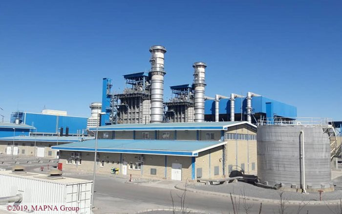 MAPNA Receives FAC for Chadormalu Combined Cycle Power Plant Steam Cycle