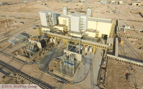 First Gas-fired Unit of West Karun Power Plant Synchronized to the Grid
