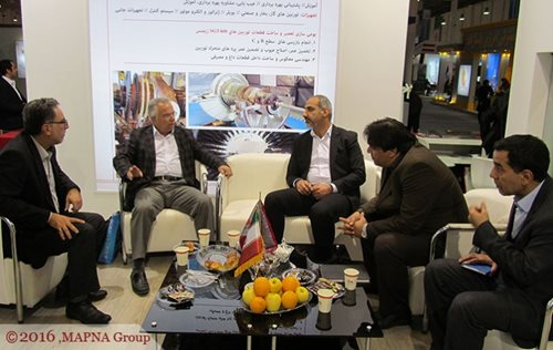 DEPUTY POWER MINISTER VISITS MAPNA BOOTH IN KISHENEX