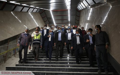 Tehran Mayor Visits Metro Line 6