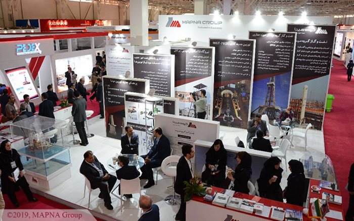 MAPNA Group Attends Iran Oil Show 2019