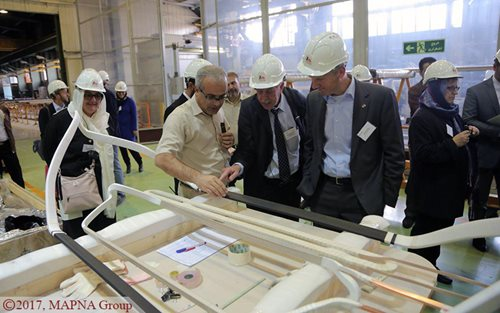 German Renewable Energy Delegation Visits MAPNA PARS