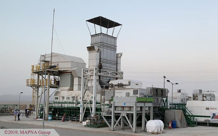 MAPNA 25-MW Mobile Power Plant Synchronized to the Grid in Southeast Iran