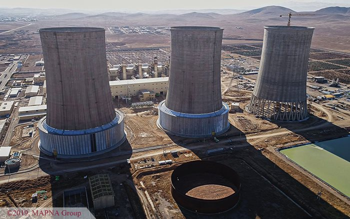 MAPNA Receives Two Certificates for Shirvan Power Plant