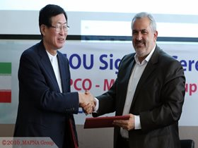 MAPNA, SOUTH KOREAN KEPCO SIGN MEMORANDUM OF UNDERSTANDING