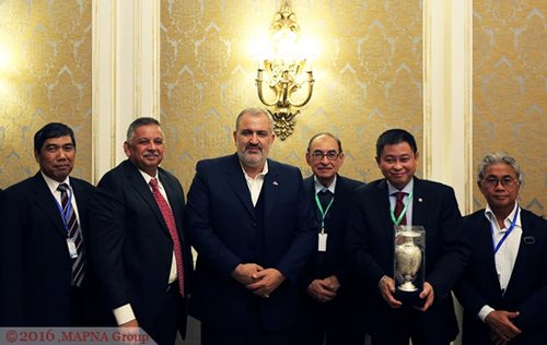 MAPNA, INDONESIA ENERGY OFFICIALS MEET IN TEHRAN