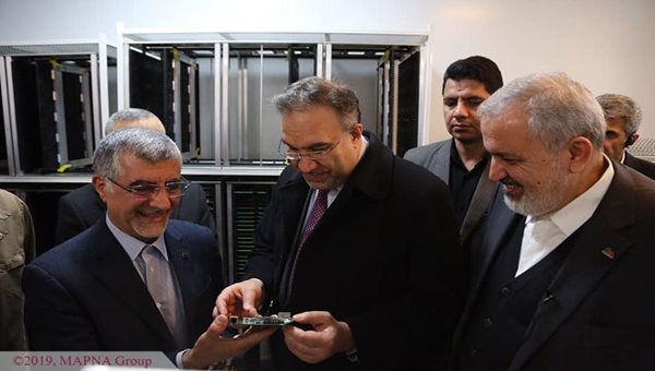 Iraq Electricity Minister Visits MAPNA Group