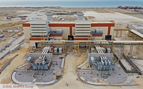 Two Gas-fired Units of Qeshm Power Plant Synchronized to the Grid