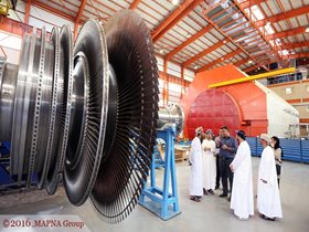 MAPNA HOSTS OMANI POWER DELEGATION