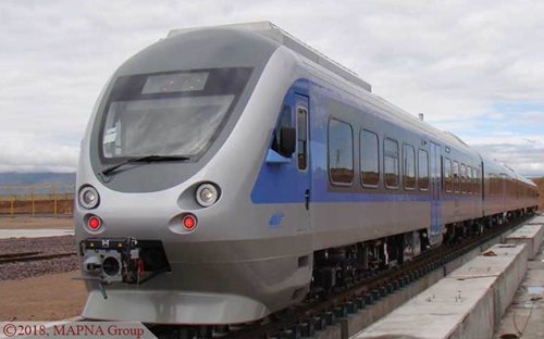 MAPNA Railbus 027 Navigates Tests with Success