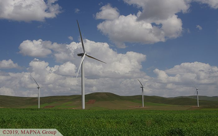 Aqkand Wind Farm Starts Operation